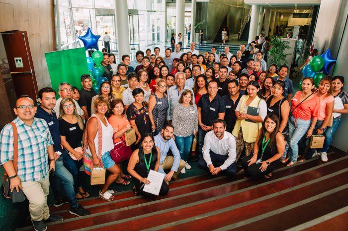 """Alumnos de Administración y Marketing participaron del """"Programa de asesorías a Empresarios Emprendedores"""" de Interbank"""