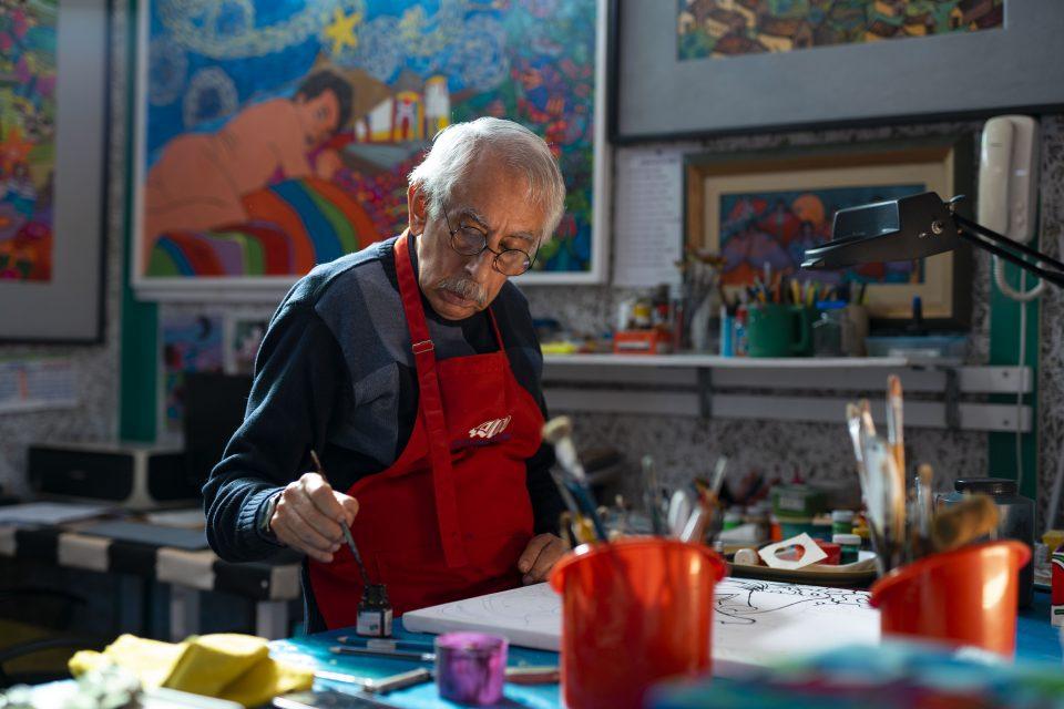 """""""Color y Sentimiento"""": Entrevista a Enrique Bustamante, artista peruano"""