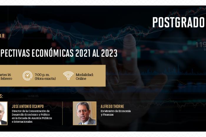 """La Escuela de Postgrado UPC organiza el webinar: """"Perspectivas económicas del 2021 al 2023"""""""