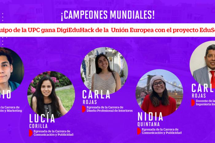 """Equipo de la UPC gana el concurso internacional DigiEduHack con el proyecto """"EduSex"""""""
