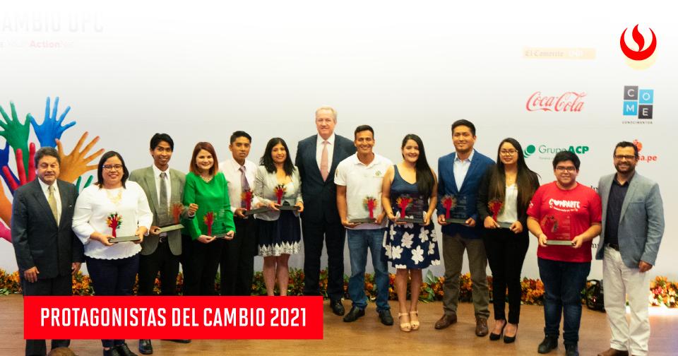 Protagonistas del Cambio UPC busca a jóvenes emprendedores con impacto social en el Perú