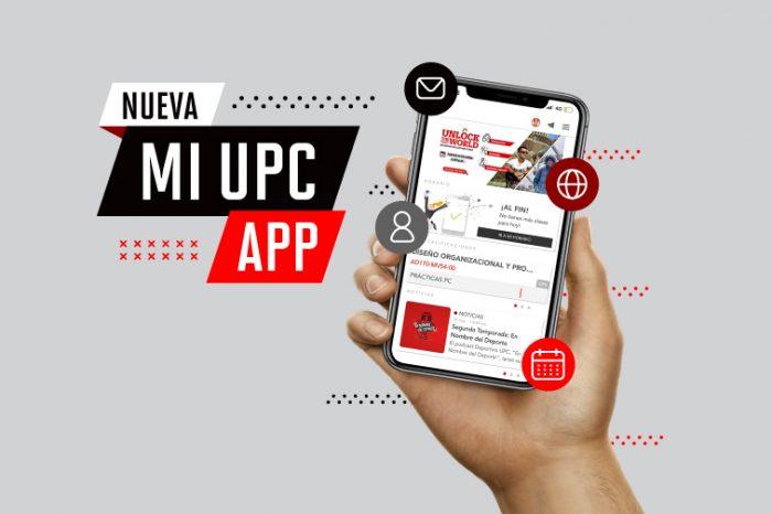 Descarga la nueva app MI UPC