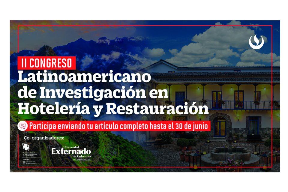 Convocatoria al II Congreso Latinoamericano de Investigación en Hotelería y Restauración 2021