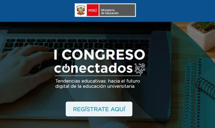 Expertos UPC participarán del I Congreso Conectados del MINEDU