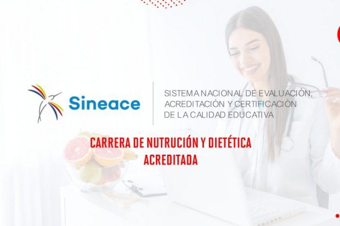 Reconocimiento a la calidad académica: Programa de Nutrición y Dietética recibe acreditación por SINEACE