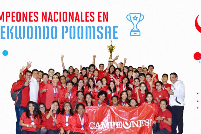Selección de Taekwondo UPC se coronan Campeones Nacionales Universitarios