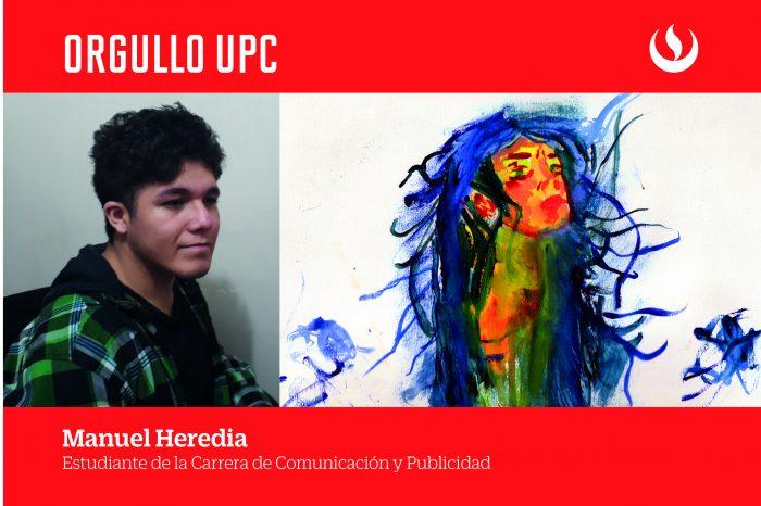 Estudiante de la carrera de Publicidad destaca en competencia de arte internacional