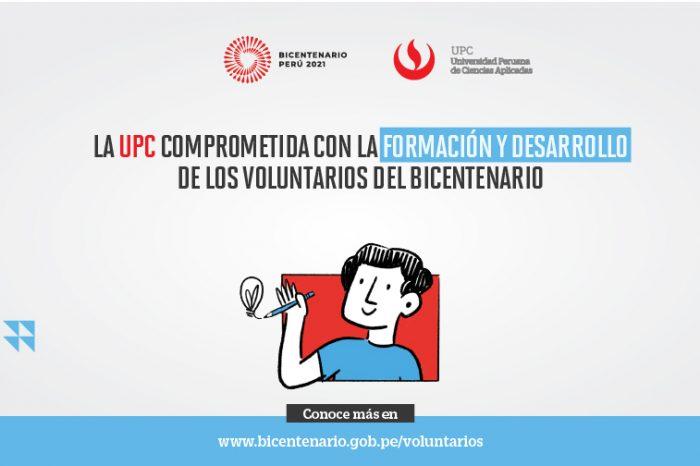 UPC comprometida con la formación y desarrollo de los Voluntarios del Bicentenario