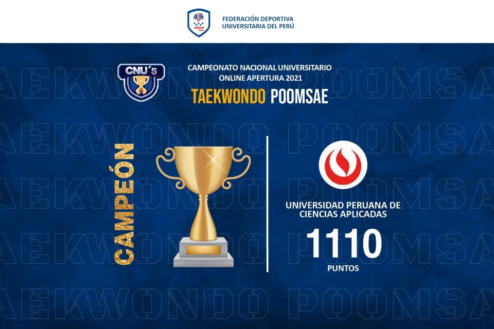 Deportes UPC obtiene II copa virtual en Karate