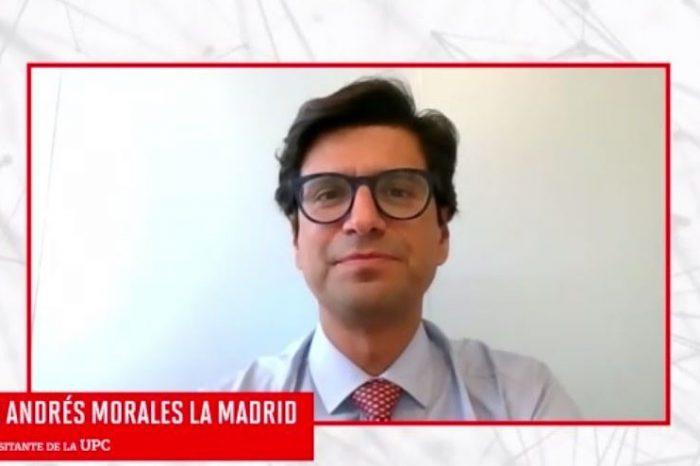 Destacado Dr. Andrés Morales es reconocido como Profesor Visitante de la UPC