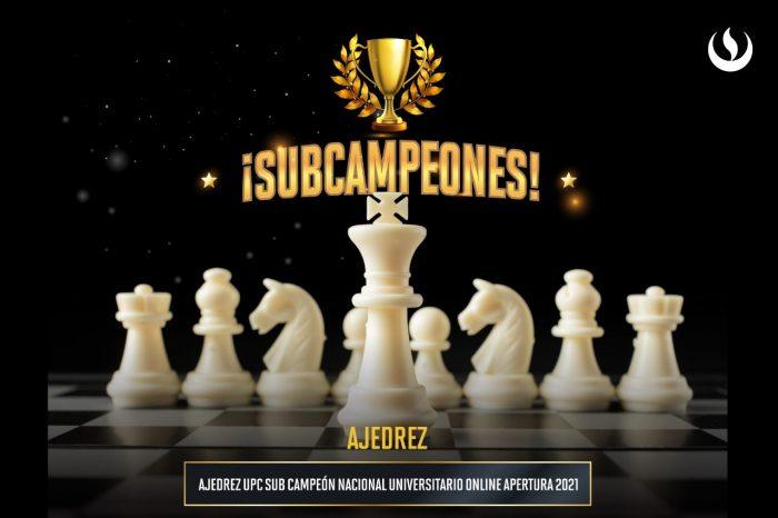 Deportes UPC SubCampeón Nacional Universitario de Ajedrez en el Torneo Apertura 2021