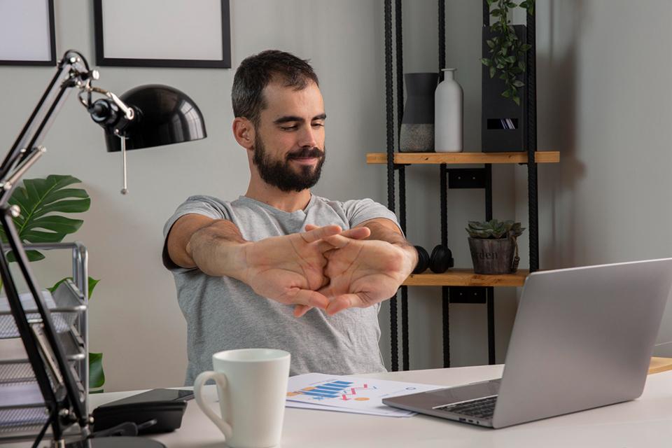 Pausas activas: La importancia de mantenerse activo en el trabajo remoto