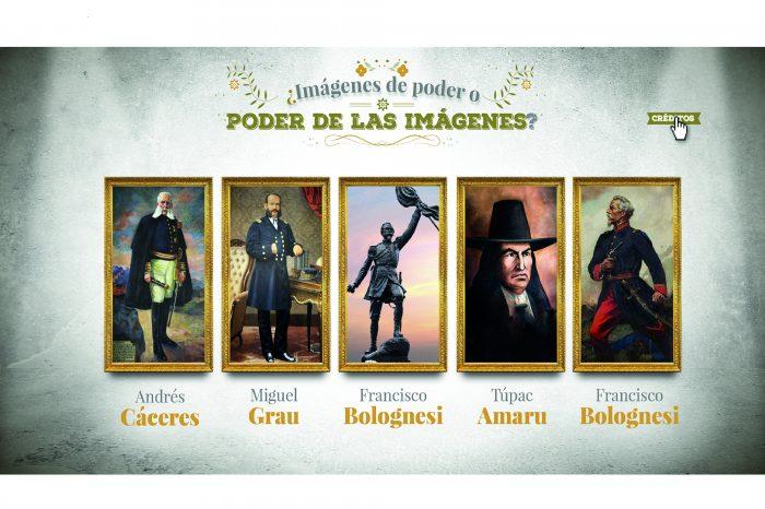 Imágenes de poder, la exhibición que rememora a nuestros héroes en el bicentenario