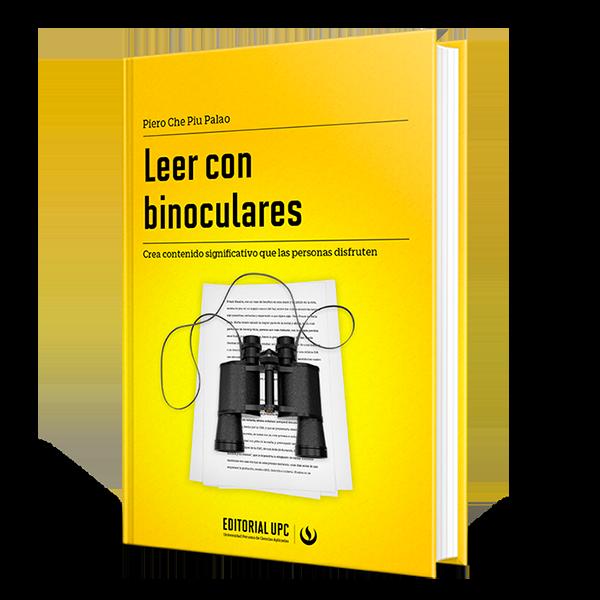 Libro Leer con binoculares