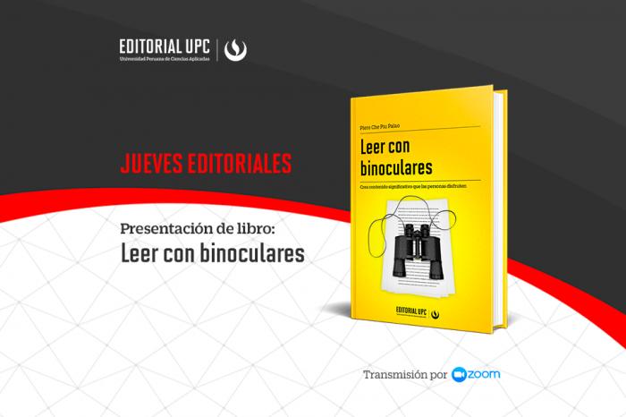 02/09/21 - Presentación del libro: Leer con binoculares [EN VIVO]