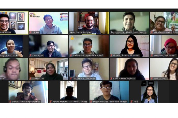 Un espacio de integración: el retreat de los finalistas de Protagonistas del Cambio UPC 2021