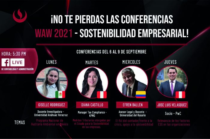 Sé parte de las conferencias WAW 2021 – Sostenibilidad empresarial