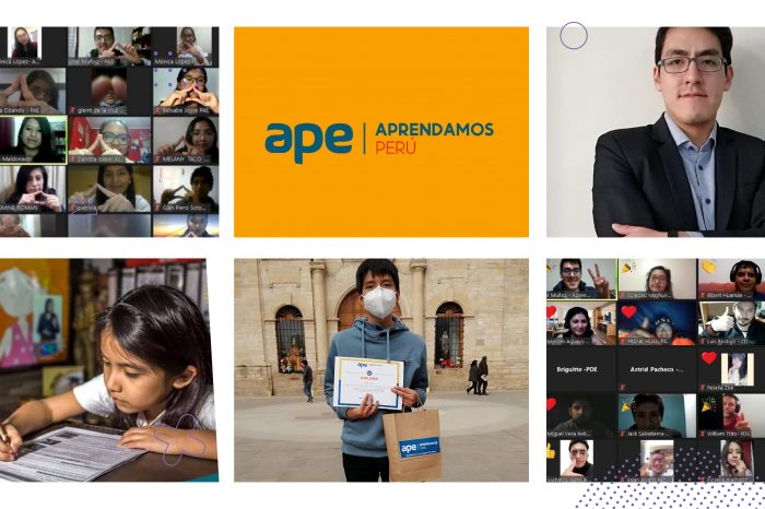 Aprendamos Perú, organización que contribuye a la educación de alumnos y docentes formando mejores ciudadanos