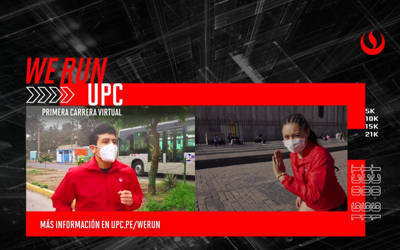 Súmate a We Run UPC: la primera carrera virtual para la comunidad UPCina