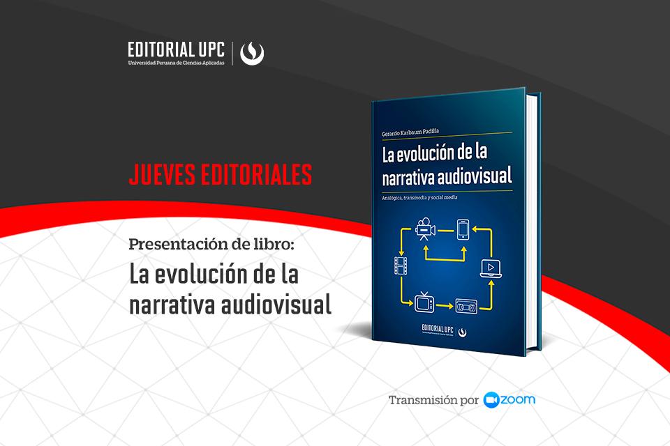 30/09/21 - Presentación del libro: La evolución de la narrativa audiovisual [EN VIVO]