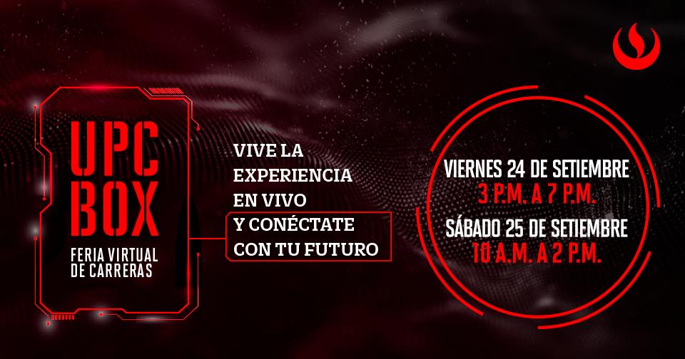 Descubre tu pasión en la Feria Virtual de Carreras UPC BOX