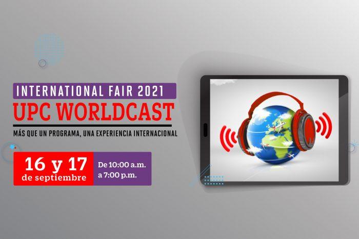 UPC Woldcast: la feria internacional más grande de UPC se realizará este 16 y 17 de setiembre