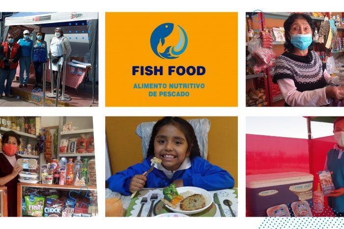 Fish Food crea productos ricos y nutritivos para familias de bajos recursos a través de la economía circular