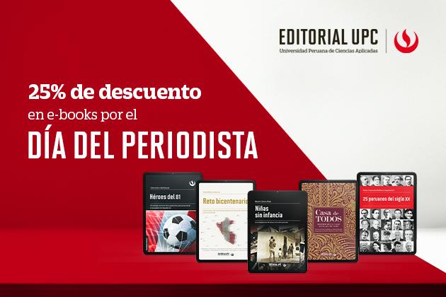 Día del Periodista - 25% de descuento en e-books